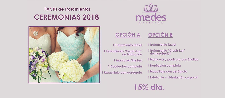 En el centro de estética en Guadassuar, Medes tenemos una oferta para ti, descuentos en tratamientos para ceremonias. ¡Consúltanos!